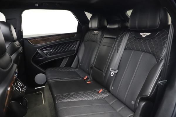 Used 2018 Bentley Bentayga W12 Signature for sale $154,900 at Bentley Greenwich in Greenwich CT 06830 24