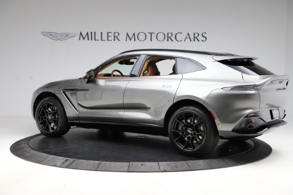 New 2021 Aston Martin DBX for sale $226,136 at Bentley Greenwich in Greenwich CT 06830 3