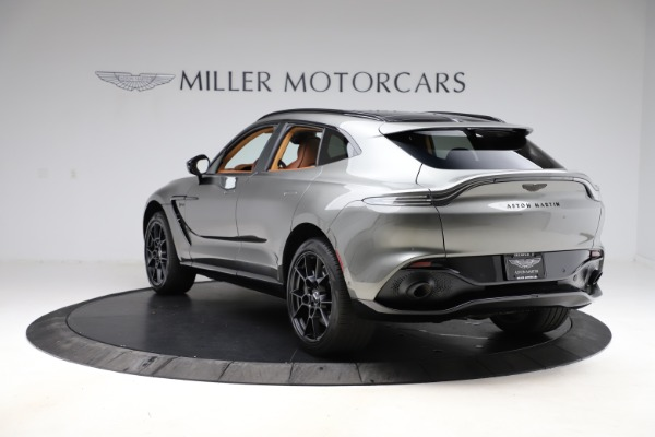 New 2021 Aston Martin DBX for sale $226,136 at Bentley Greenwich in Greenwich CT 06830 4