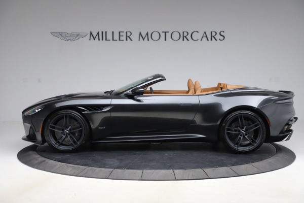 New 2021 Aston Martin DBS Superleggera Volante Convertible for sale $402,786 at Bentley Greenwich in Greenwich CT 06830 2