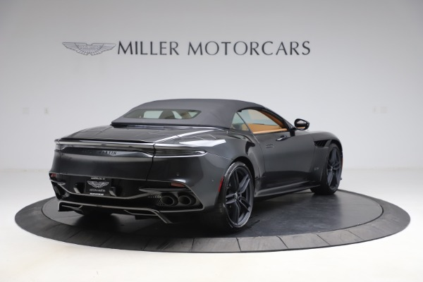 New 2021 Aston Martin DBS Superleggera Volante Convertible for sale $402,786 at Bentley Greenwich in Greenwich CT 06830 28