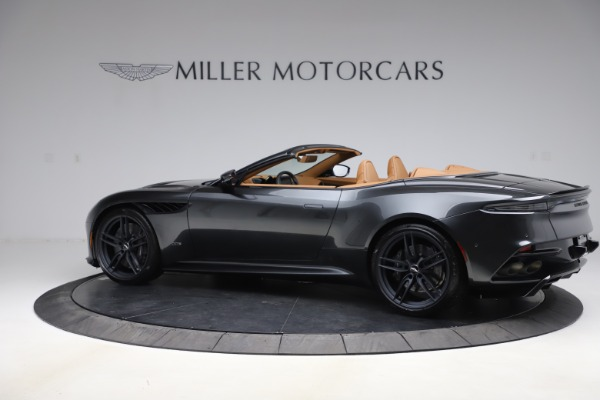 New 2021 Aston Martin DBS Superleggera Volante Convertible for sale $402,786 at Bentley Greenwich in Greenwich CT 06830 3