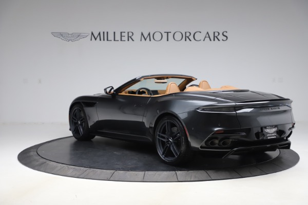 New 2021 Aston Martin DBS Superleggera Volante Convertible for sale $402,786 at Bentley Greenwich in Greenwich CT 06830 4