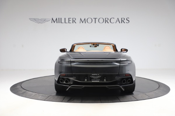 New 2021 Aston Martin DBS Superleggera Volante Convertible for sale $402,786 at Bentley Greenwich in Greenwich CT 06830 5