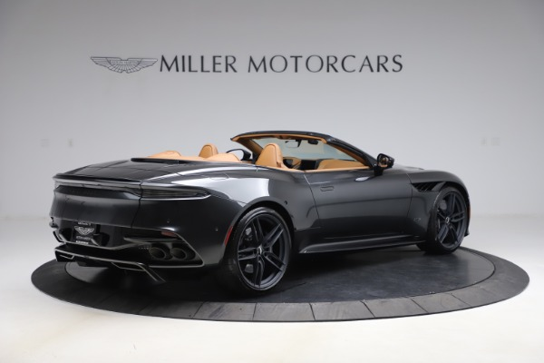 New 2021 Aston Martin DBS Superleggera Volante Convertible for sale $402,786 at Bentley Greenwich in Greenwich CT 06830 7