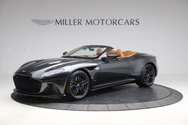New 2021 Aston Martin DBS Superleggera Volante Convertible for sale $402,786 at Bentley Greenwich in Greenwich CT 06830 1