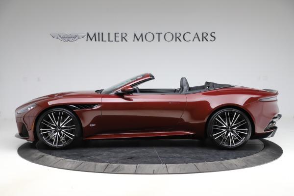 New 2021 Aston Martin DBS Superleggera Volante for sale $362,486 at Bentley Greenwich in Greenwich CT 06830 2