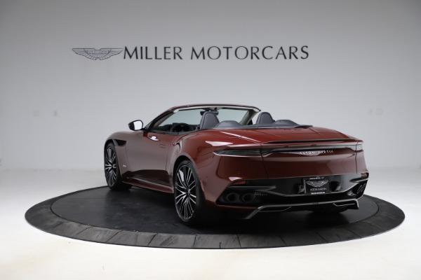 New 2021 Aston Martin DBS Superleggera Volante for sale $362,486 at Bentley Greenwich in Greenwich CT 06830 4