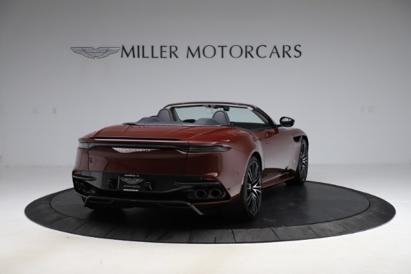 New 2021 Aston Martin DBS Superleggera Volante for sale $362,486 at Bentley Greenwich in Greenwich CT 06830 6
