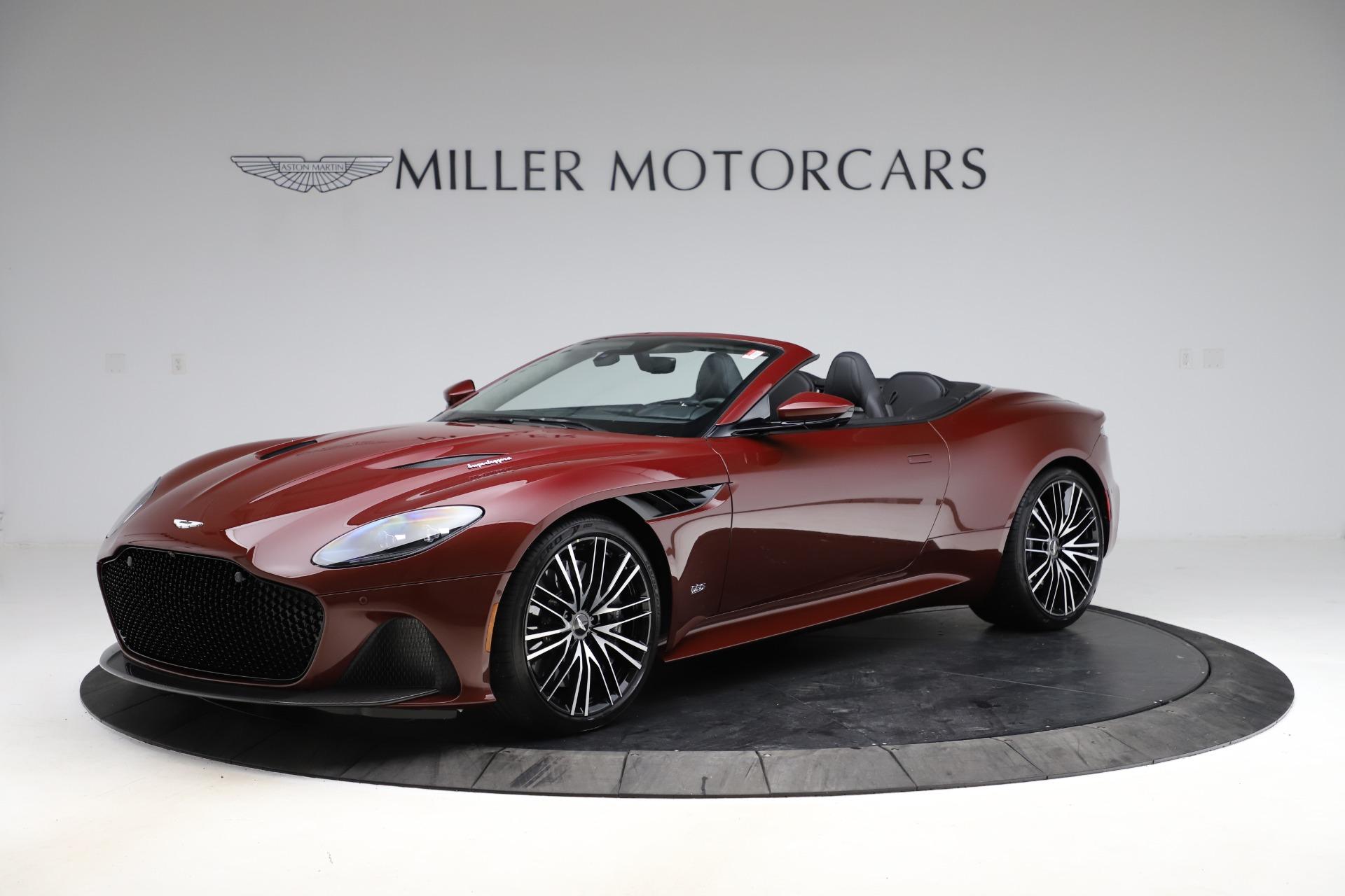 New 2021 Aston Martin DBS Superleggera Volante for sale $362,486 at Bentley Greenwich in Greenwich CT 06830 1