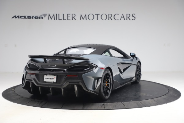 Used 2019 McLaren 600LT Coupe for sale $229,900 at Bentley Greenwich in Greenwich CT 06830 6
