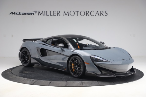Used 2019 McLaren 600LT Coupe for sale $229,900 at Bentley Greenwich in Greenwich CT 06830 9
