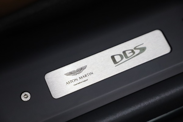 Used 2020 Aston Martin DBS Superleggera for sale Sold at Bentley Greenwich in Greenwich CT 06830 21