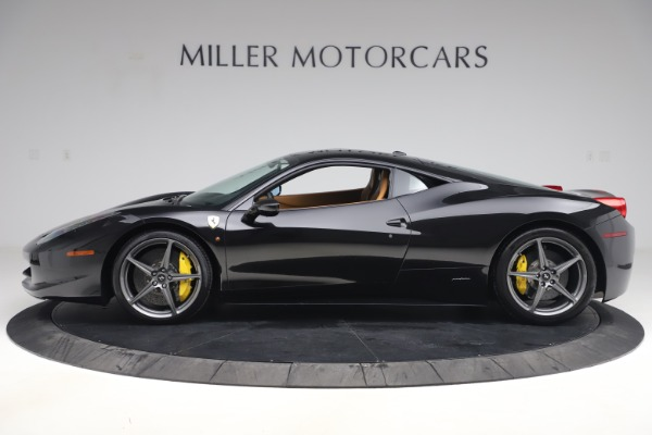 Used 2012 Ferrari 458 Italia for sale Sold at Bentley Greenwich in Greenwich CT 06830 3