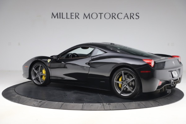 Used 2012 Ferrari 458 Italia for sale Sold at Bentley Greenwich in Greenwich CT 06830 4