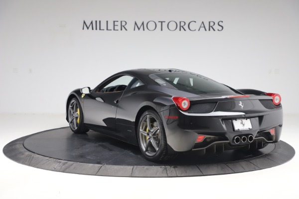Used 2012 Ferrari 458 Italia for sale Sold at Bentley Greenwich in Greenwich CT 06830 5