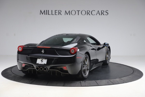 Used 2012 Ferrari 458 Italia for sale Sold at Bentley Greenwich in Greenwich CT 06830 7