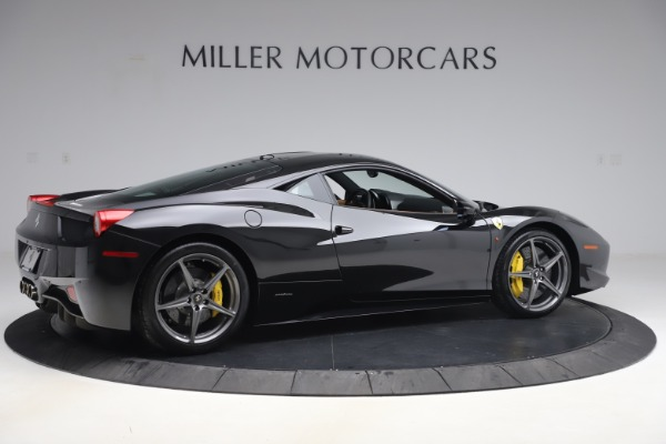 Used 2012 Ferrari 458 Italia for sale Sold at Bentley Greenwich in Greenwich CT 06830 8
