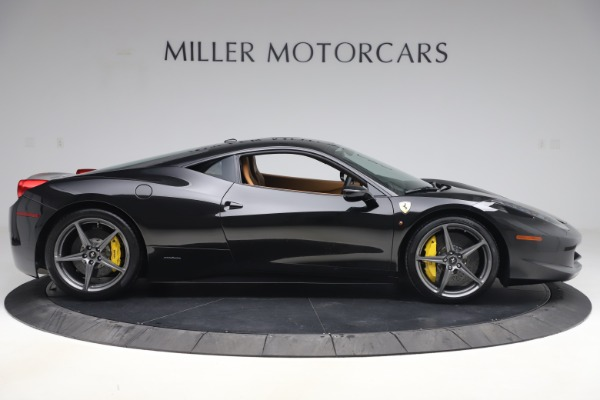 Used 2012 Ferrari 458 Italia for sale Sold at Bentley Greenwich in Greenwich CT 06830 9