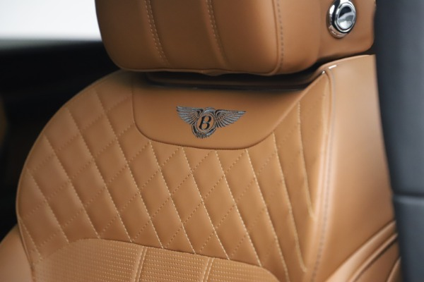 Used 2018 Bentley Bentayga W12 for sale $156,900 at Bentley Greenwich in Greenwich CT 06830 22