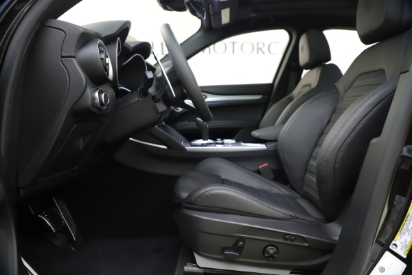 New 2020 Alfa Romeo Stelvio Ti Sport Q4 for sale Sold at Bentley Greenwich in Greenwich CT 06830 14