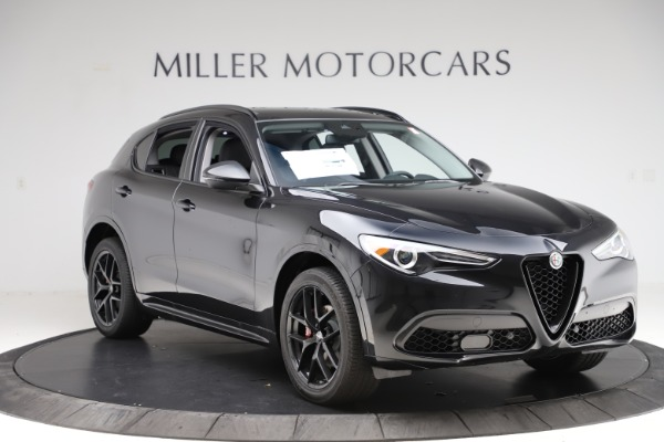 New 2020 Alfa Romeo Stelvio Ti Sport Q4 for sale $51,795 at Bentley Greenwich in Greenwich CT 06830 11