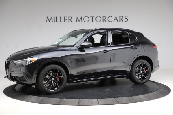 New 2020 Alfa Romeo Stelvio Ti Sport Q4 for sale $51,795 at Bentley Greenwich in Greenwich CT 06830 2