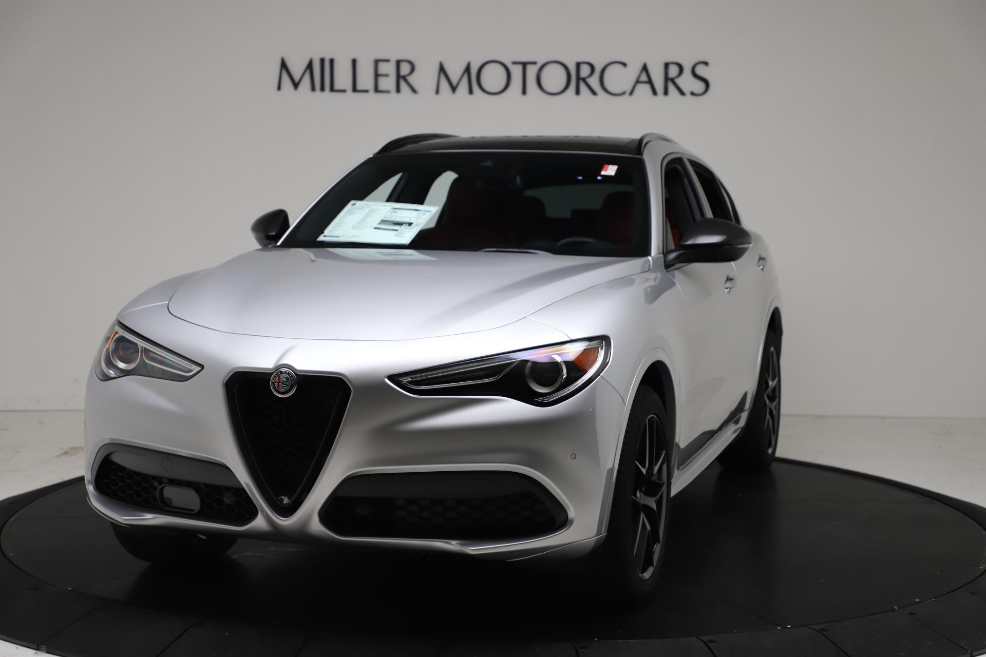 New 2021 Alfa Romeo Stelvio Ti Sport Q4 for sale $56,090 at Bentley Greenwich in Greenwich CT 06830 1