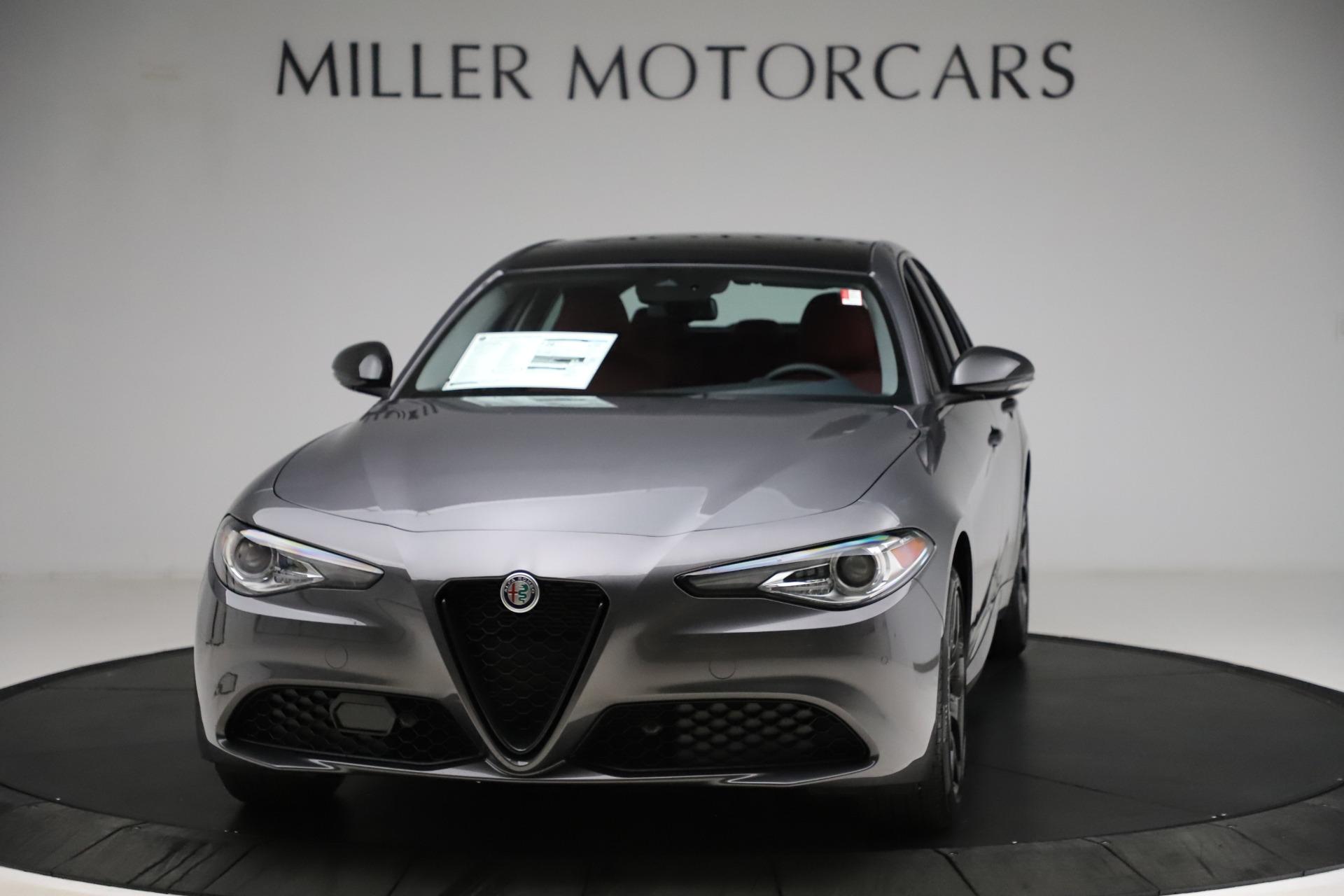 New 2021 Alfa Romeo Giulia Q4 for sale $48,035 at Bentley Greenwich in Greenwich CT 06830 1