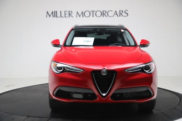 New 2021 Alfa Romeo Stelvio Q4 for sale $47,735 at Bentley Greenwich in Greenwich CT 06830 12