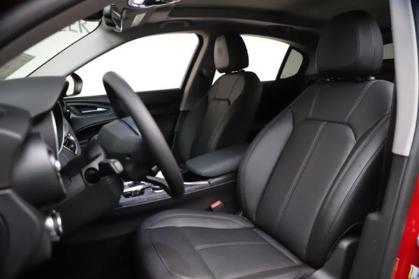 New 2021 Alfa Romeo Stelvio Q4 for sale $47,735 at Bentley Greenwich in Greenwich CT 06830 15