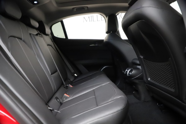 New 2021 Alfa Romeo Stelvio Q4 for sale $47,735 at Bentley Greenwich in Greenwich CT 06830 25