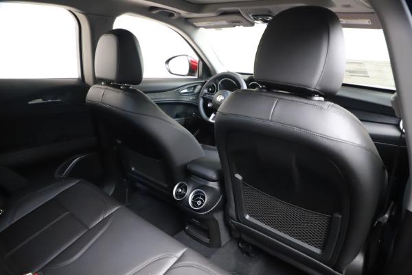 New 2021 Alfa Romeo Stelvio Q4 for sale $47,735 at Bentley Greenwich in Greenwich CT 06830 26
