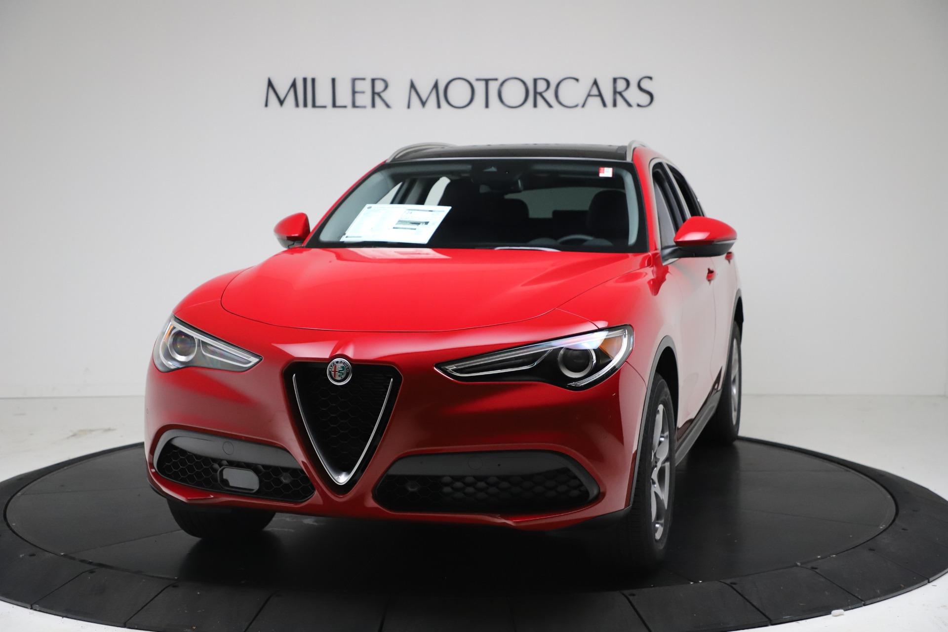 New 2021 Alfa Romeo Stelvio Q4 for sale $47,735 at Bentley Greenwich in Greenwich CT 06830 1