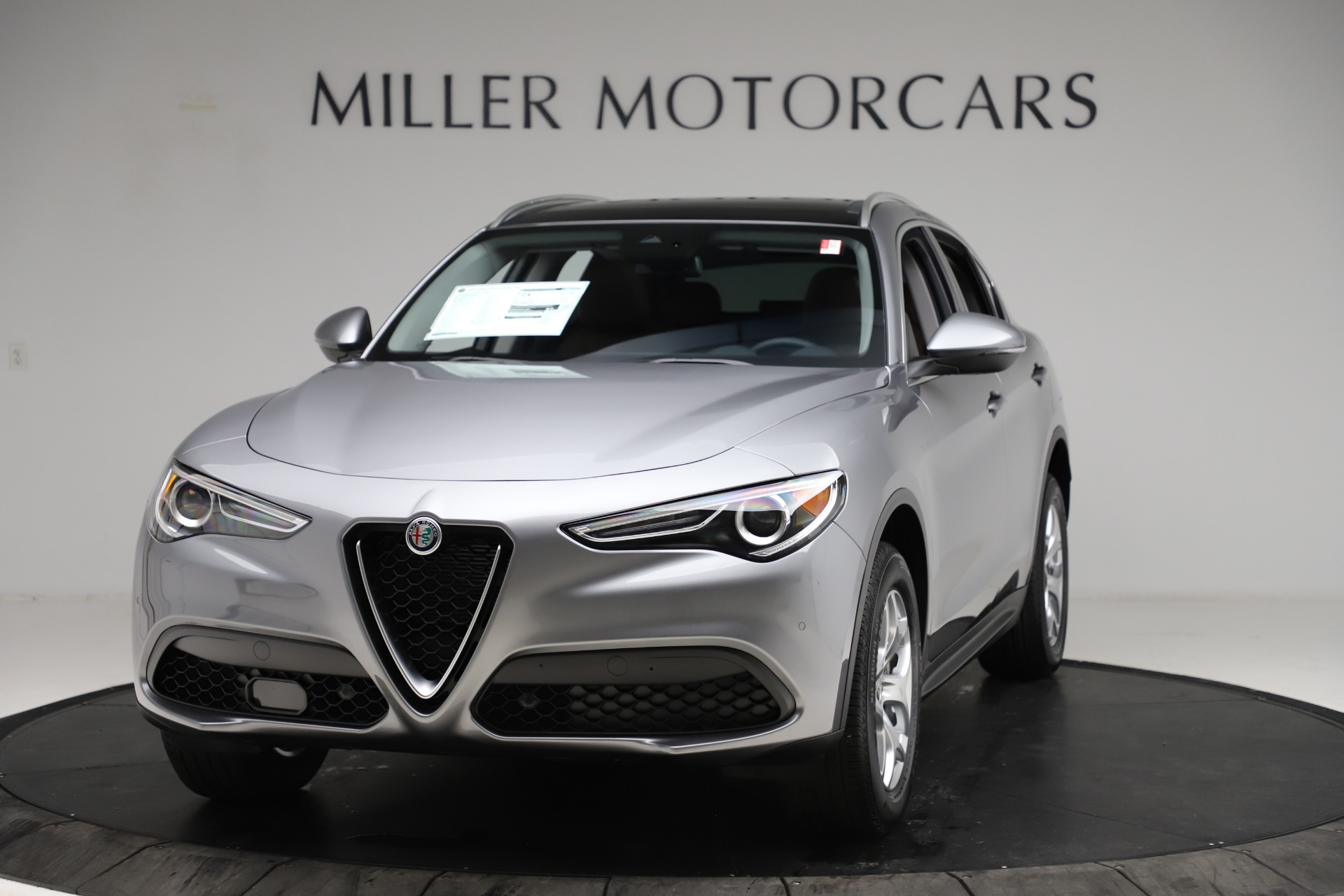 New 2021 Alfa Romeo Stelvio Q4 for sale $48,835 at Bentley Greenwich in Greenwich CT 06830 1