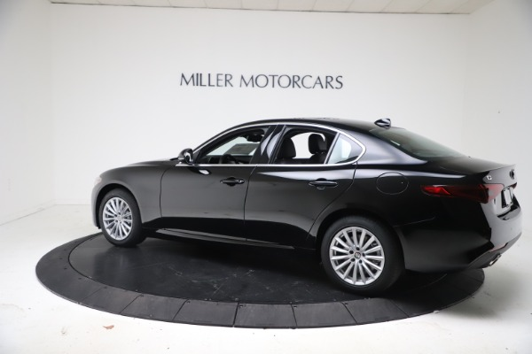 New 2021 Alfa Romeo Giulia Q4 for sale Call for price at Bentley Greenwich in Greenwich CT 06830 4