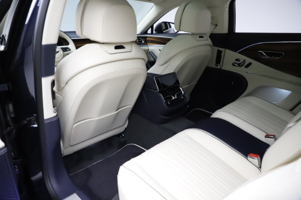 New 2021 Bentley Flying Spur V8 First Edition for sale Sold at Bentley Greenwich in Greenwich CT 06830 21