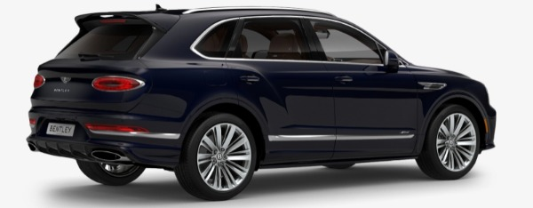 New 2021 Bentley Bentayga Speed Edition for sale $272,895 at Bentley Greenwich in Greenwich CT 06830 3