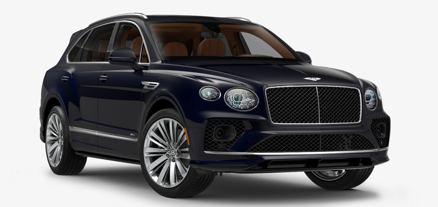 New 2021 Bentley Bentayga Speed Edition for sale $272,895 at Bentley Greenwich in Greenwich CT 06830 1