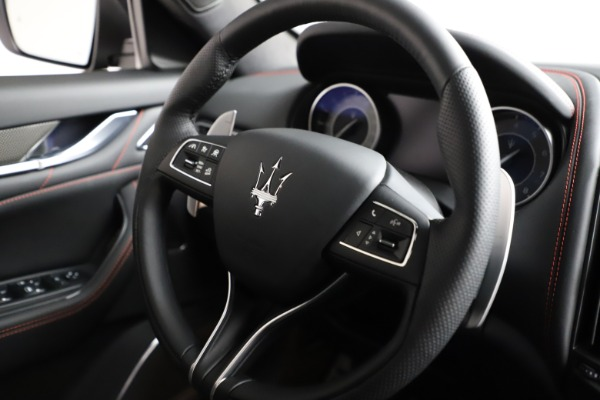 New 2021 Maserati Levante Q4 GranSport for sale $94,985 at Bentley Greenwich in Greenwich CT 06830 24