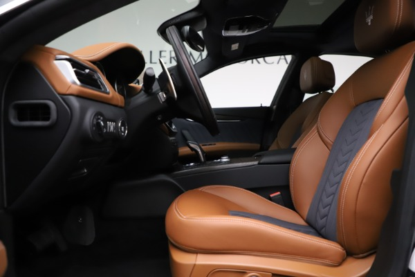 New 2021 Maserati Ghibli S Q4 GranLusso for sale Call for price at Bentley Greenwich in Greenwich CT 06830 16