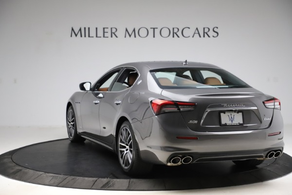 New 2021 Maserati Ghibli S Q4 GranLusso for sale Call for price at Bentley Greenwich in Greenwich CT 06830 5