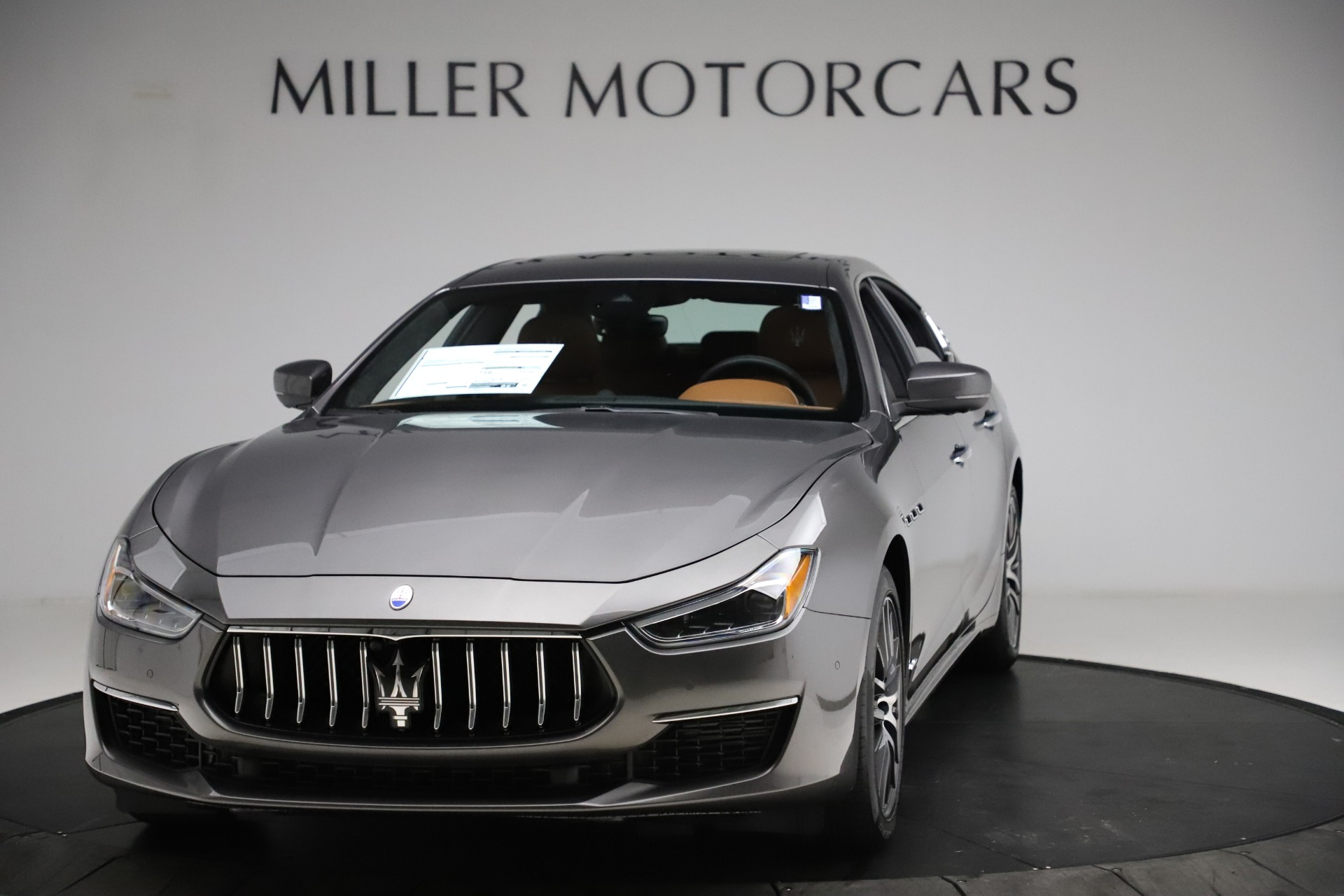 New 2021 Maserati Ghibli S Q4 GranLusso for sale Call for price at Bentley Greenwich in Greenwich CT 06830 1