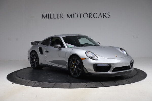 Used 2019 Porsche 911 Turbo S for sale $177,900 at Bentley Greenwich in Greenwich CT 06830 11