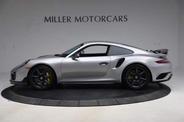 Used 2019 Porsche 911 Turbo S for sale $177,900 at Bentley Greenwich in Greenwich CT 06830 3