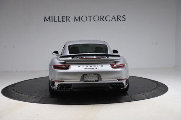 Used 2019 Porsche 911 Turbo S for sale $177,900 at Bentley Greenwich in Greenwich CT 06830 6