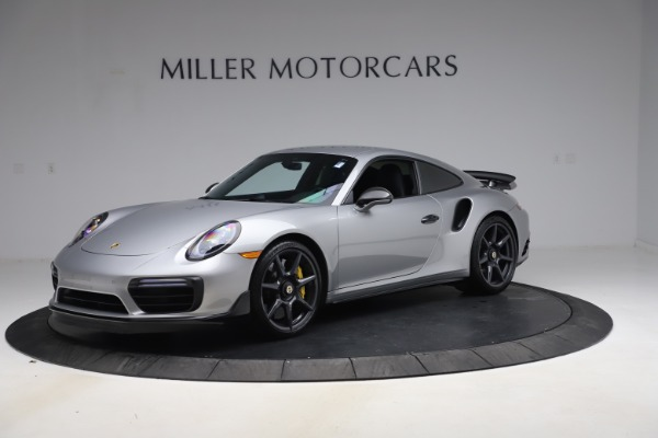 Used 2019 Porsche 911 Turbo S for sale $177,900 at Bentley Greenwich in Greenwich CT 06830 1