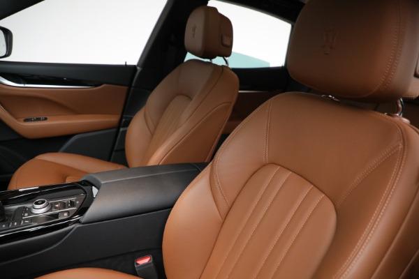 New 2021 Maserati Levante Q4 for sale $85,625 at Bentley Greenwich in Greenwich CT 06830 16
