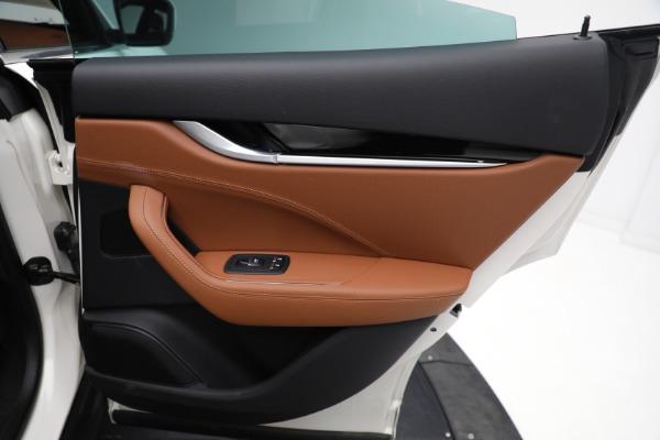 New 2021 Maserati Levante Q4 for sale $85,625 at Bentley Greenwich in Greenwich CT 06830 28