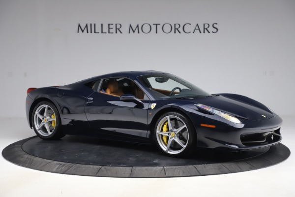 Used 2011 Ferrari 458 Italia for sale $179,900 at Bentley Greenwich in Greenwich CT 06830 10